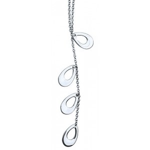 HerSpirit ladies stainless steel drops necklace