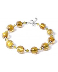 WOW ladies fashion venetian glass bracelet