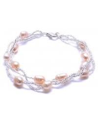 WOW ladies fashion freshwater pearl bracelet