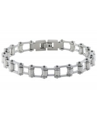 Mens InSpirit stainless steel bracelet chain