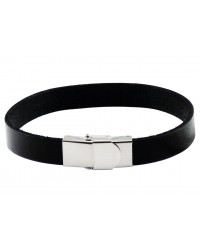 Mens InSpirit leather bracelet