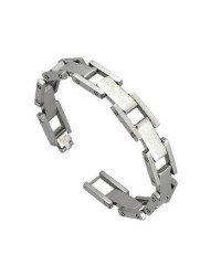 Mens InSpirit stainless steel bracelet