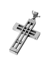 Mens/Ladies InSpirit stainless steel cross pendant